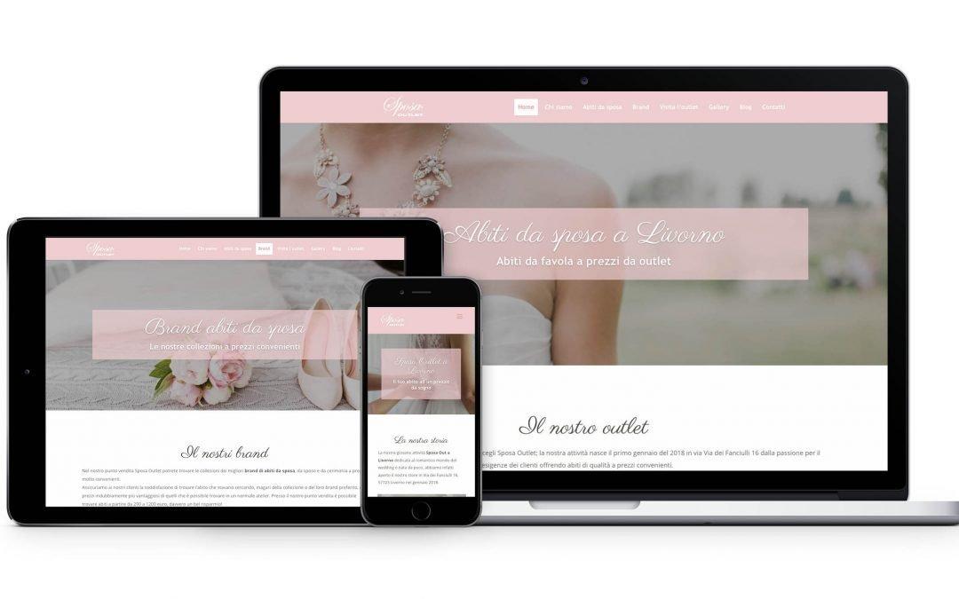 Il nostro nuovo sito web: sposaoutlet.net si rinnova!